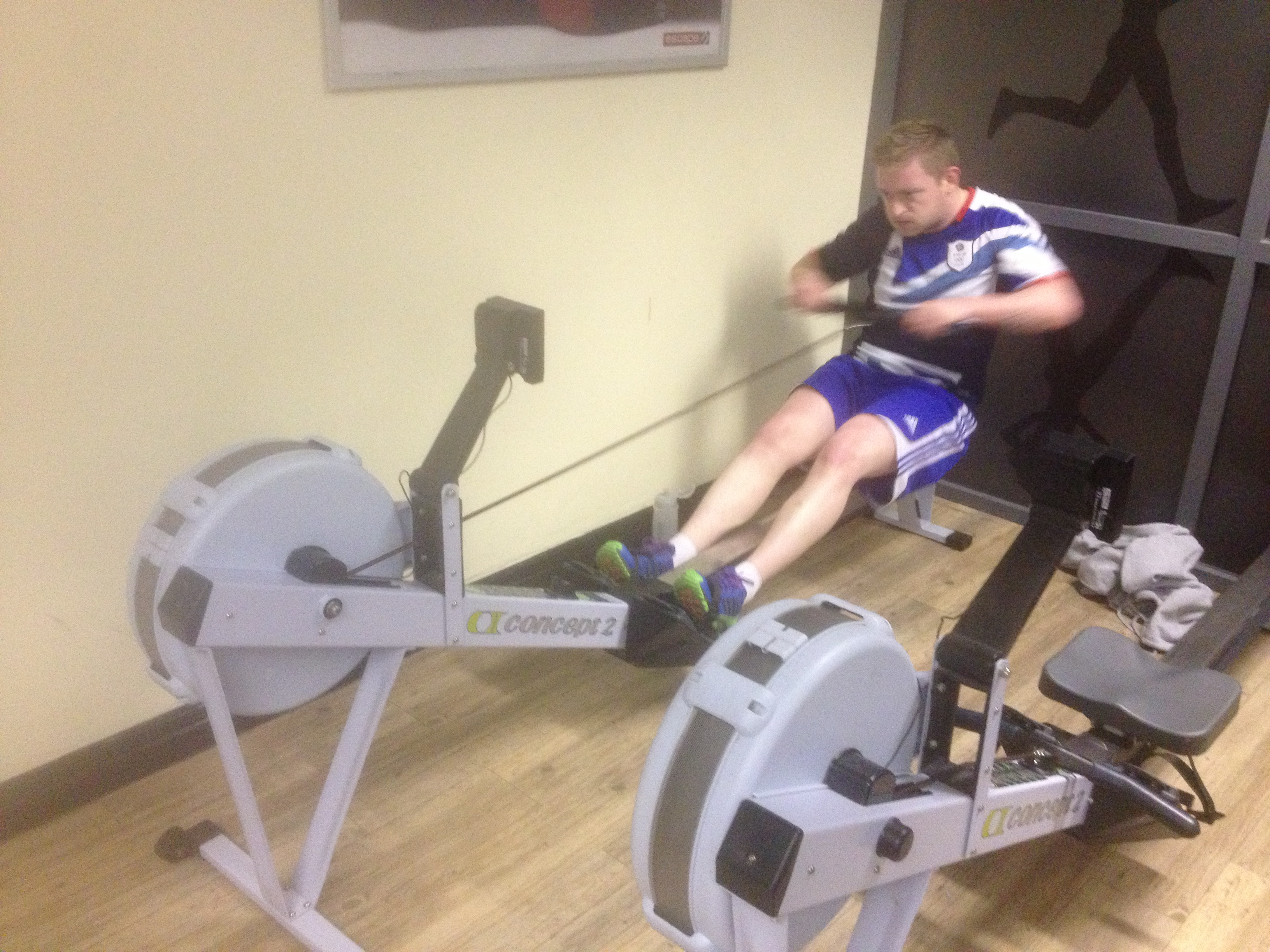 rowing machine interval