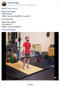 personal trainer stockport