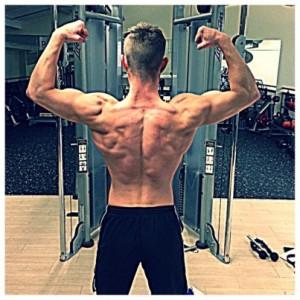 Lean Back, Man, Fitness Model