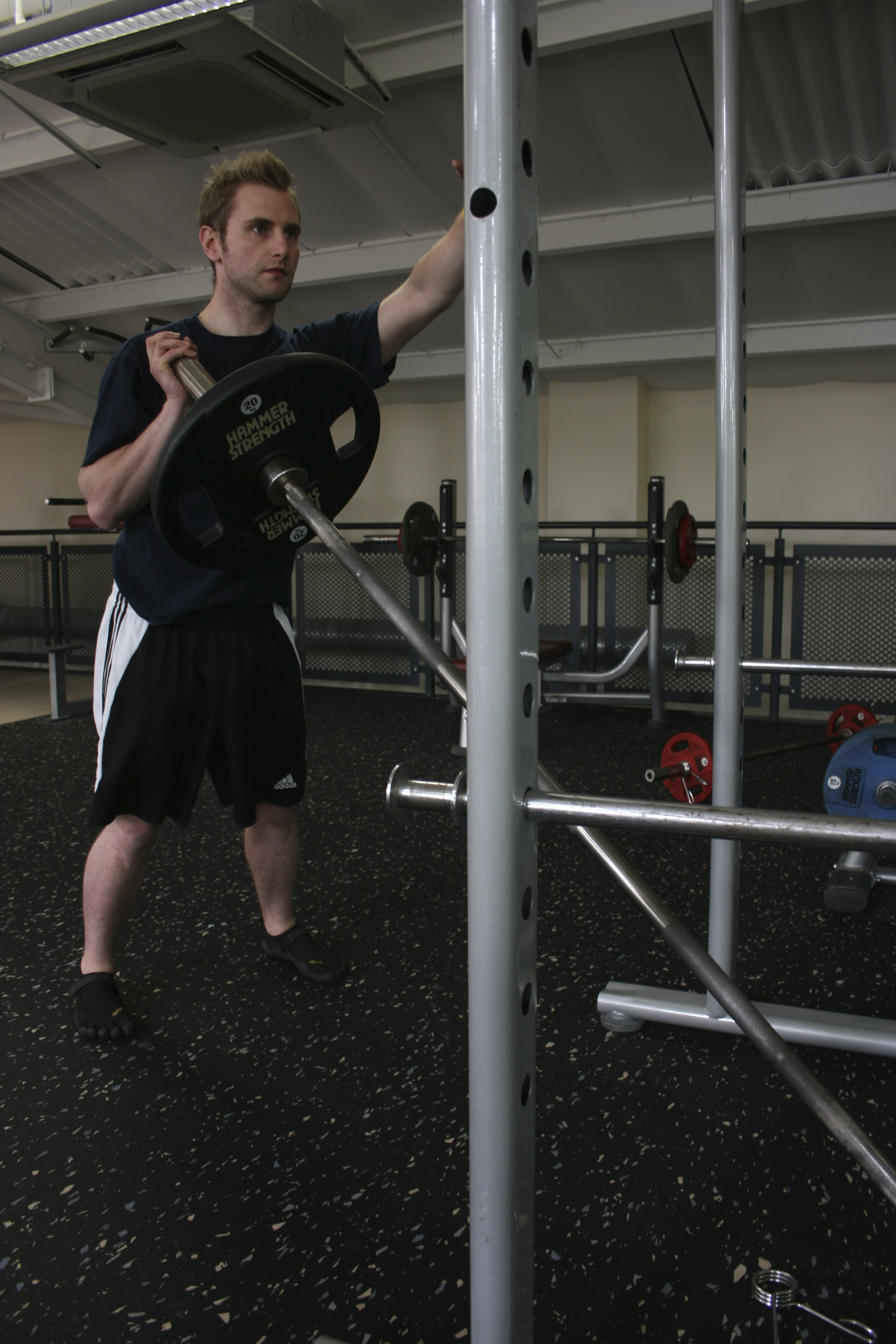 Single Arm Barbell Press, Uni-Lateral Exercise, Uni-Lateral Training