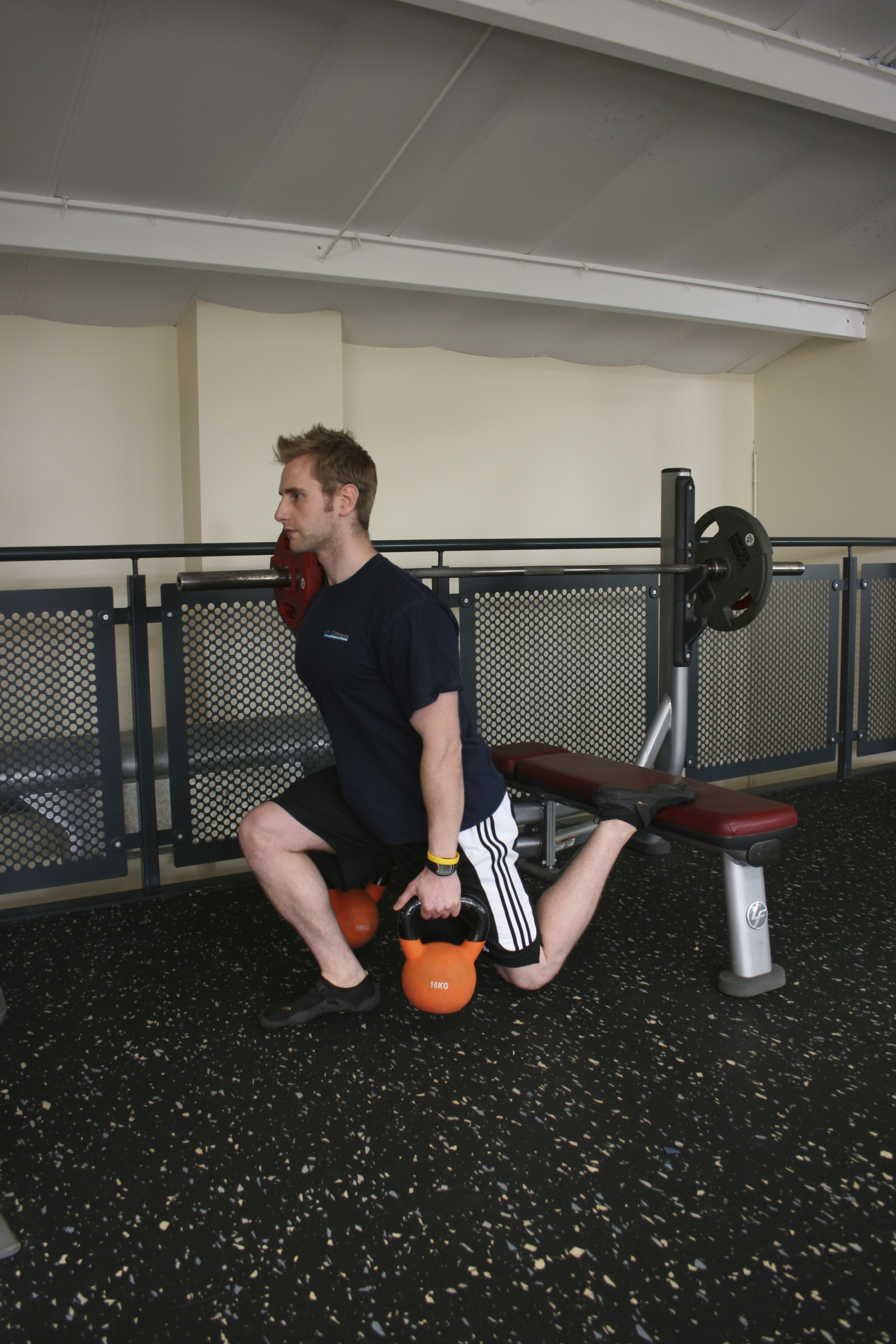 Rear Foot Elevated Split Squats, Uni-lateral exercise, Uni-Lateral Training