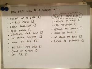 effective goal setting, productivity hacks