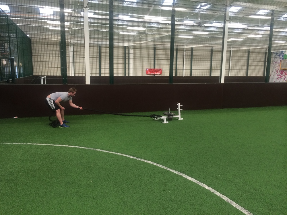Prowler Conditioning Workout