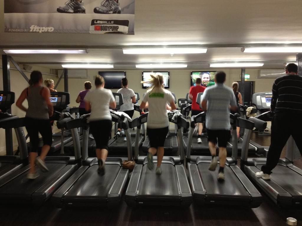 HIIT treadmill workout, non-traditional cardio