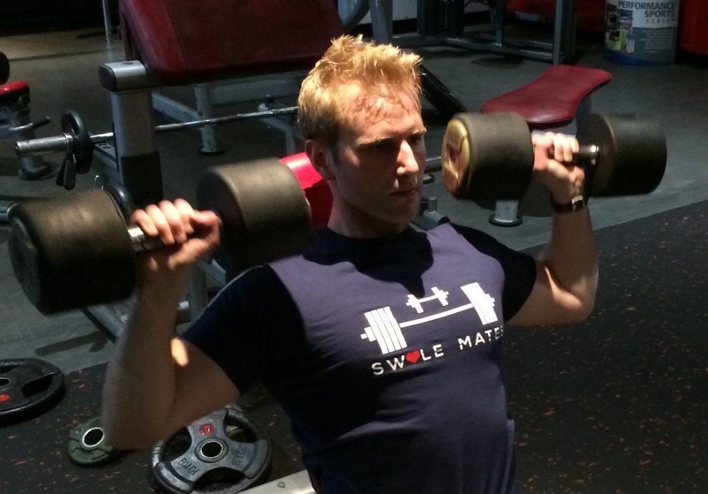 build bigger arms, hybrid training