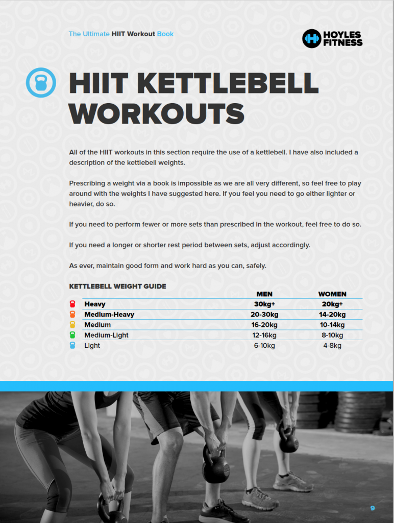 What To Expect From The Ultimate HIIT Workout Book
