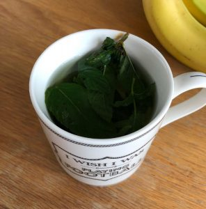mint tea, low calorie diet swaps