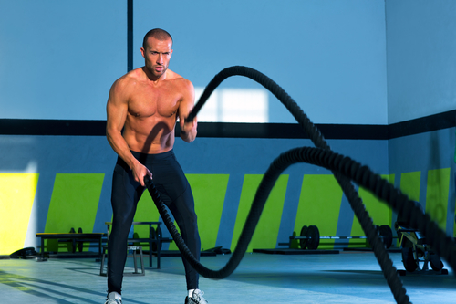 battle rope conditioning workouts