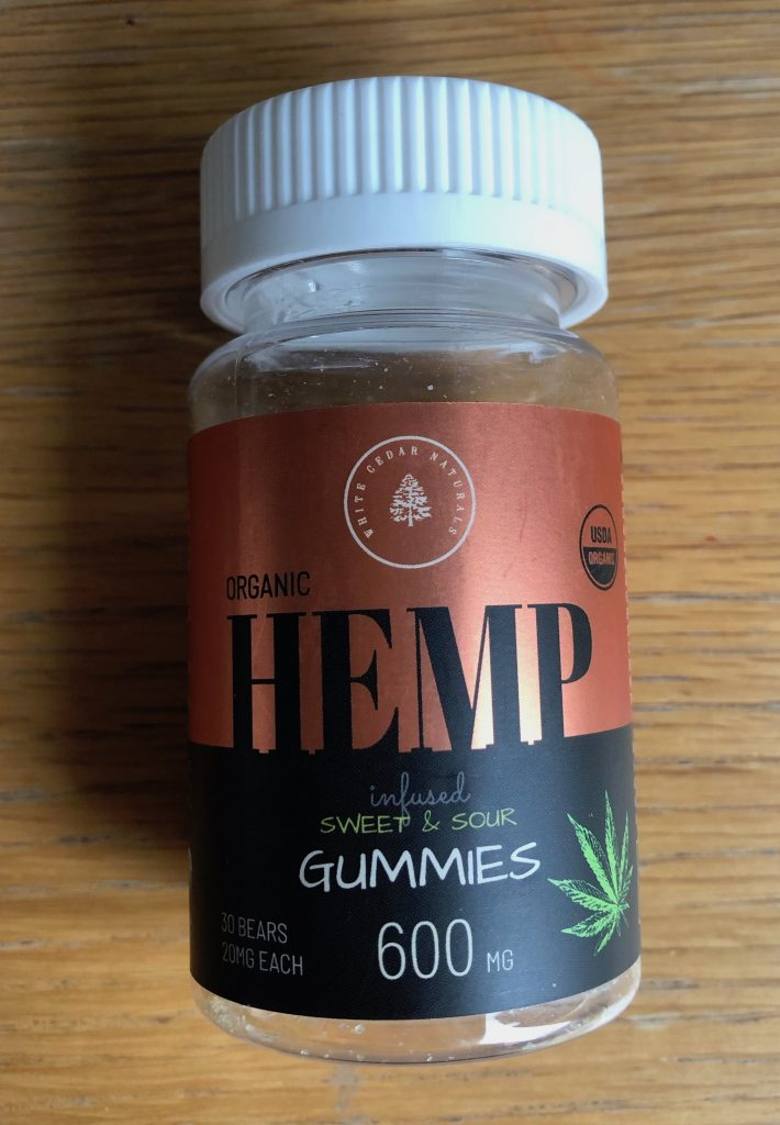 White Cedar Naturals CBD Gummy Bears Review