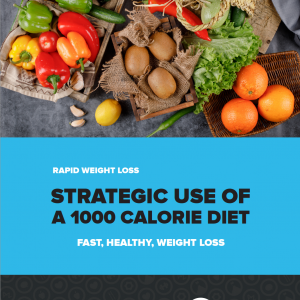 training thoughts, strategic use of a 1000 calorie diet