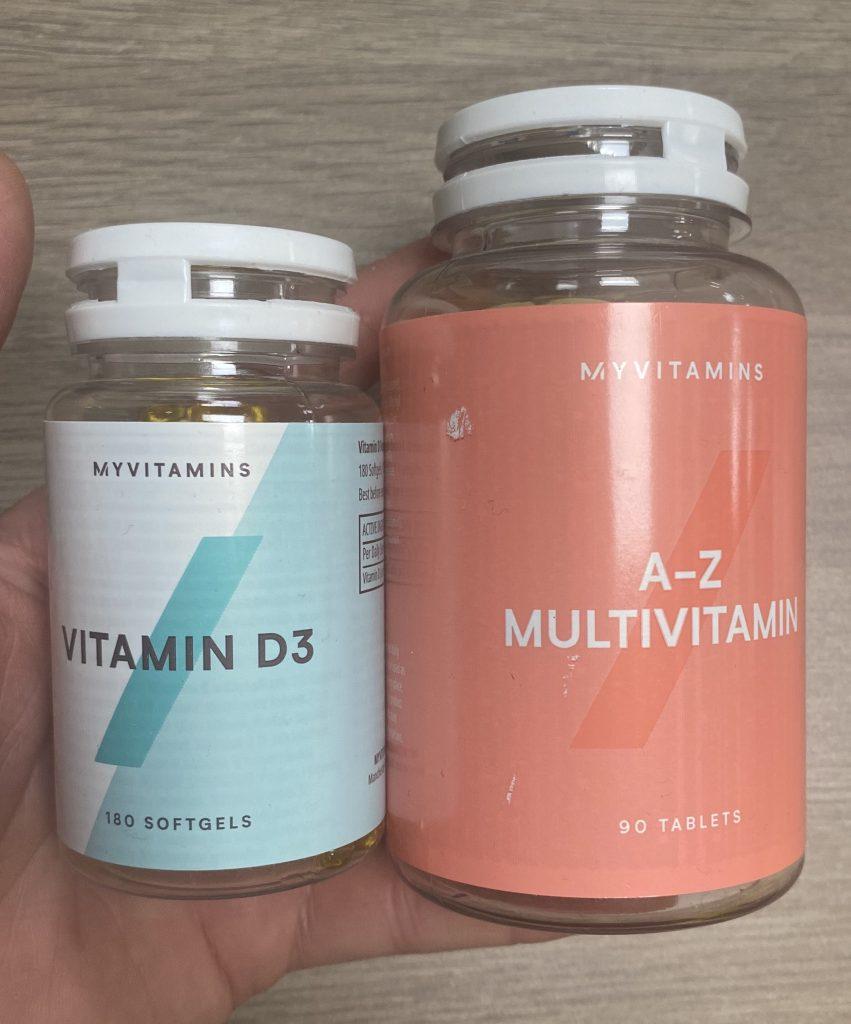 MyProtein A-Z Multivitamin MyProtein Vitamin D3